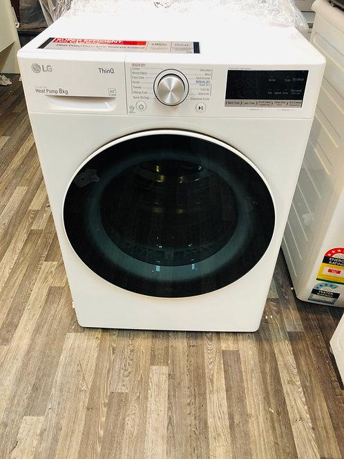 LG 8KG Heat Pump Dryer 9 Star Energy with Wifi