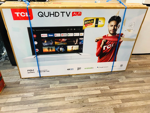 """TCL 60"""" 4K Android P20 Smart Wifi QUHD LED TV"""