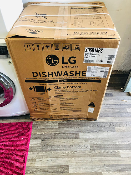 "NEW"" LG Dishwasher QUADWASH (Platinum STEEL) [2020]"