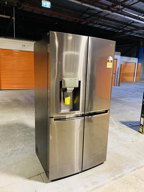 LG 706L French Door Water & ICE Dispenser Fridge [2021 Model]