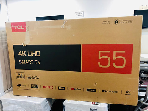 "TCL 55"" 4K Smart Wifi HDR Ultra HD LED TV"