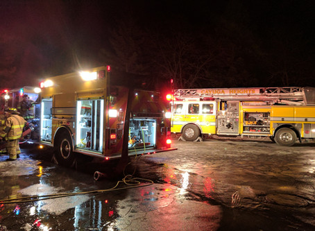 Concord Place Fire