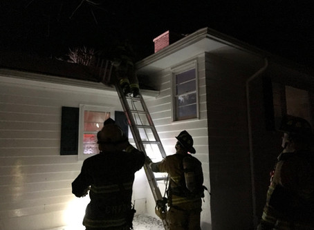 Structure Fire / Triphammer Terrace