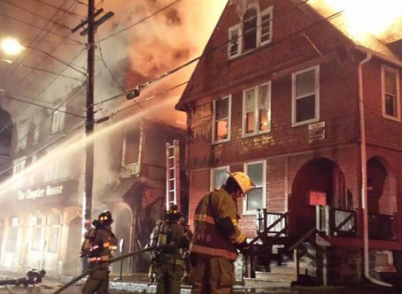 Chapter House Fire