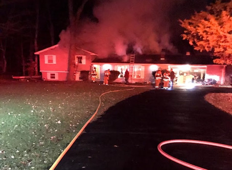 Structure Fire / Horvath Dr