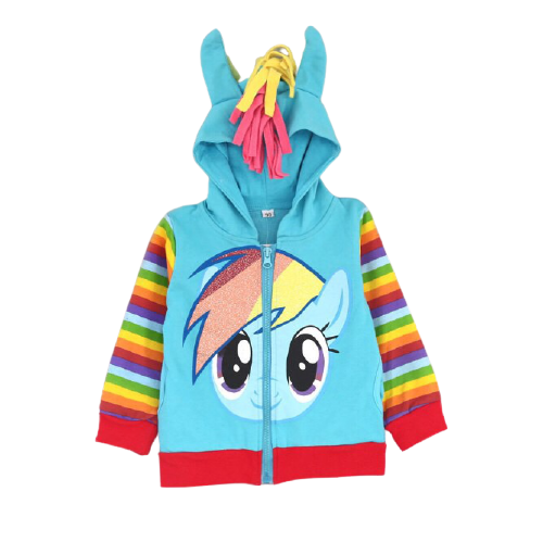Polerón Rainbow Dash - My Little Pony