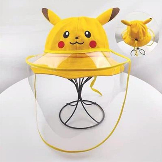 Gorro Pikachu con máscara facial desmontable