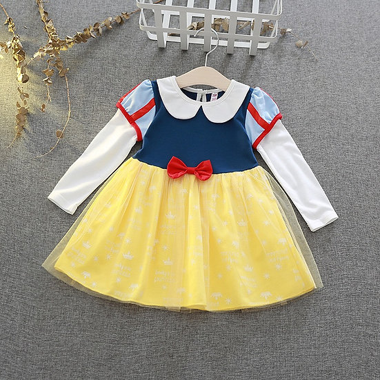 Vestido Blanca Nieves Bebé