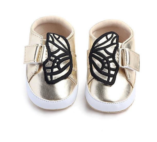 Zapatillas Mariposa Doradas