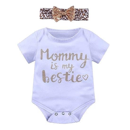 Body Mommy is my Bestie (Blanco)