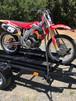 Single Motorcycle Trailer