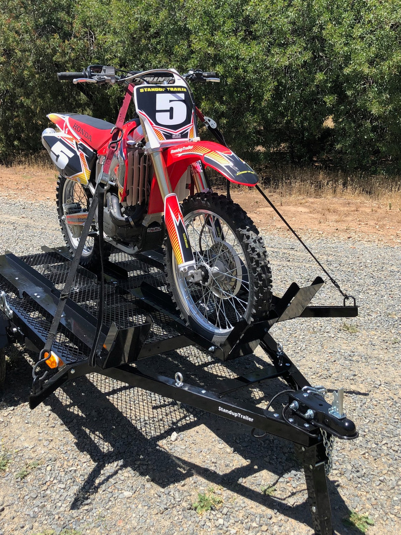 SIngle Motorcycle Trailer