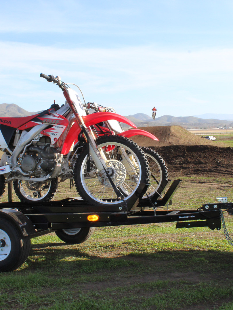 Two Motorcycle Trailer