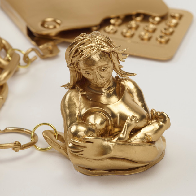 Lactation (detail from Charm Bracelet of My Reproductive Career)