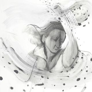 Woman Swarmed By Flies