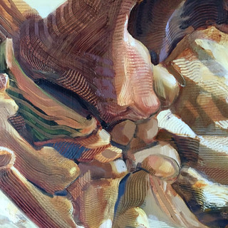 I Wandered the Mesas of My Mother's Bones (detail)