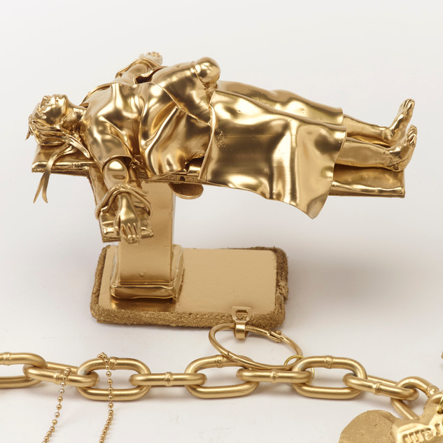 C-Section (detail from Charm Bracelet of My Reproductive Career)