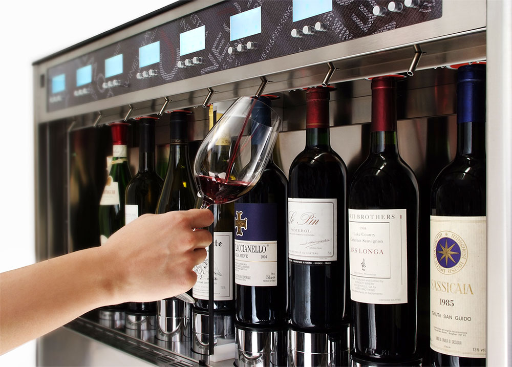 Argon Wine Dispenser