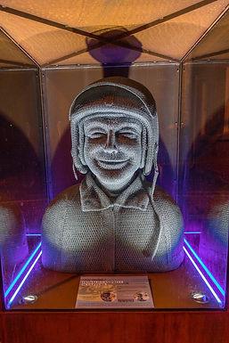 Donald Campbell Sculpture