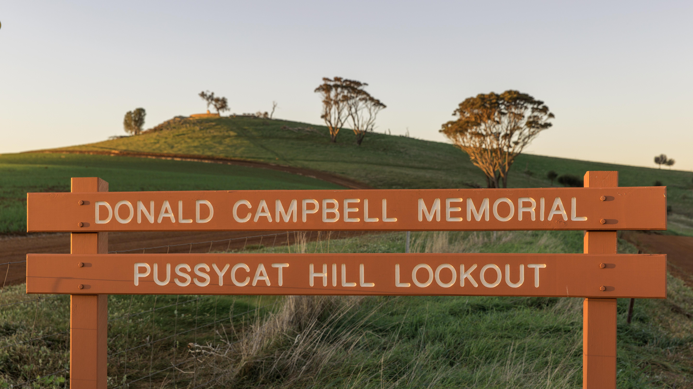 DONALD CAMPBELL MEMORIAL