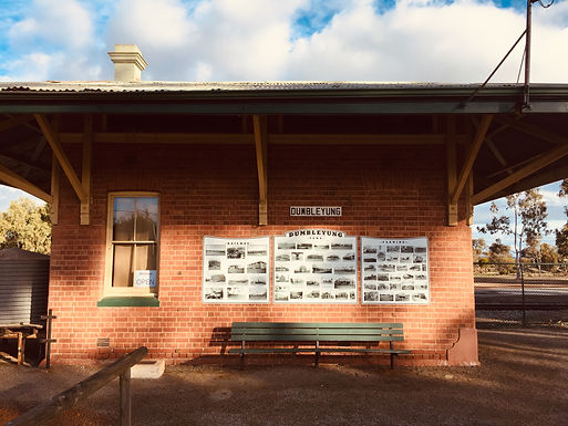 Station Building Historical Display (Self Guided)