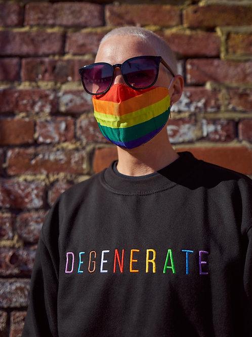 LGBTQ+ Degenerate Sweatshirt