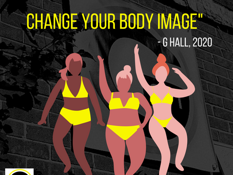 """Changing your body doesn't change your body image…"""