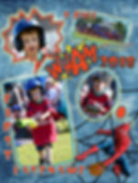 T-Ball -Novice Spiderman Team #2Template