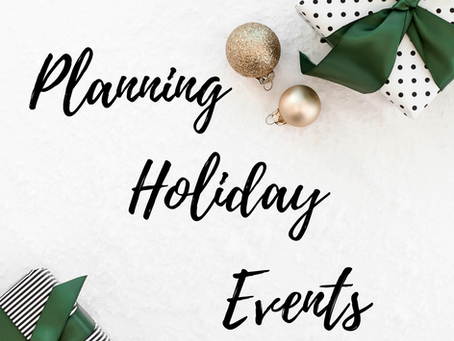 Planning Holiday Events | Jubilee Weddings and Events