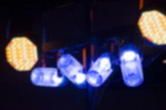 Etape Configuration d'éclairage
