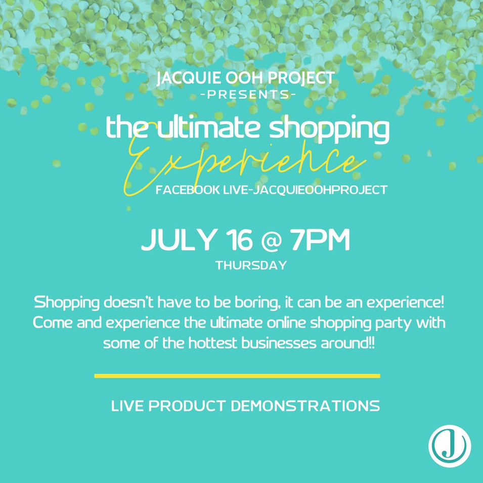 ULTIMATE shopping experience jacquie ooh