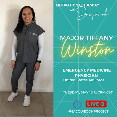 Major Tiffany Winston Motivational Tuesd