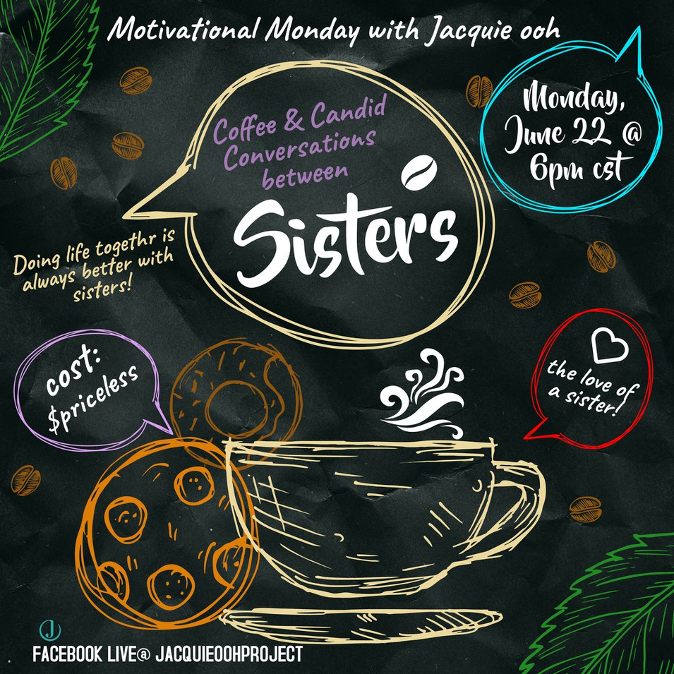 coffee and conversations with sisters mo