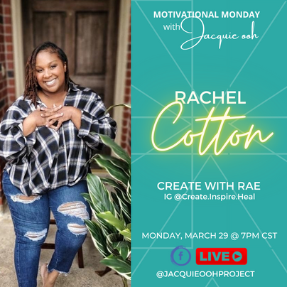 Rachel Cotton Motivational Monday with J