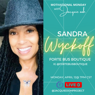 Sandra Wyckoff Motivational Monday with