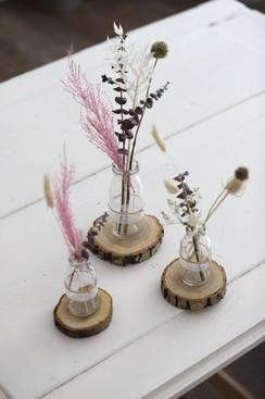 Holzscheiben klein (Durchmesser zwischen 8cm & 12cm)