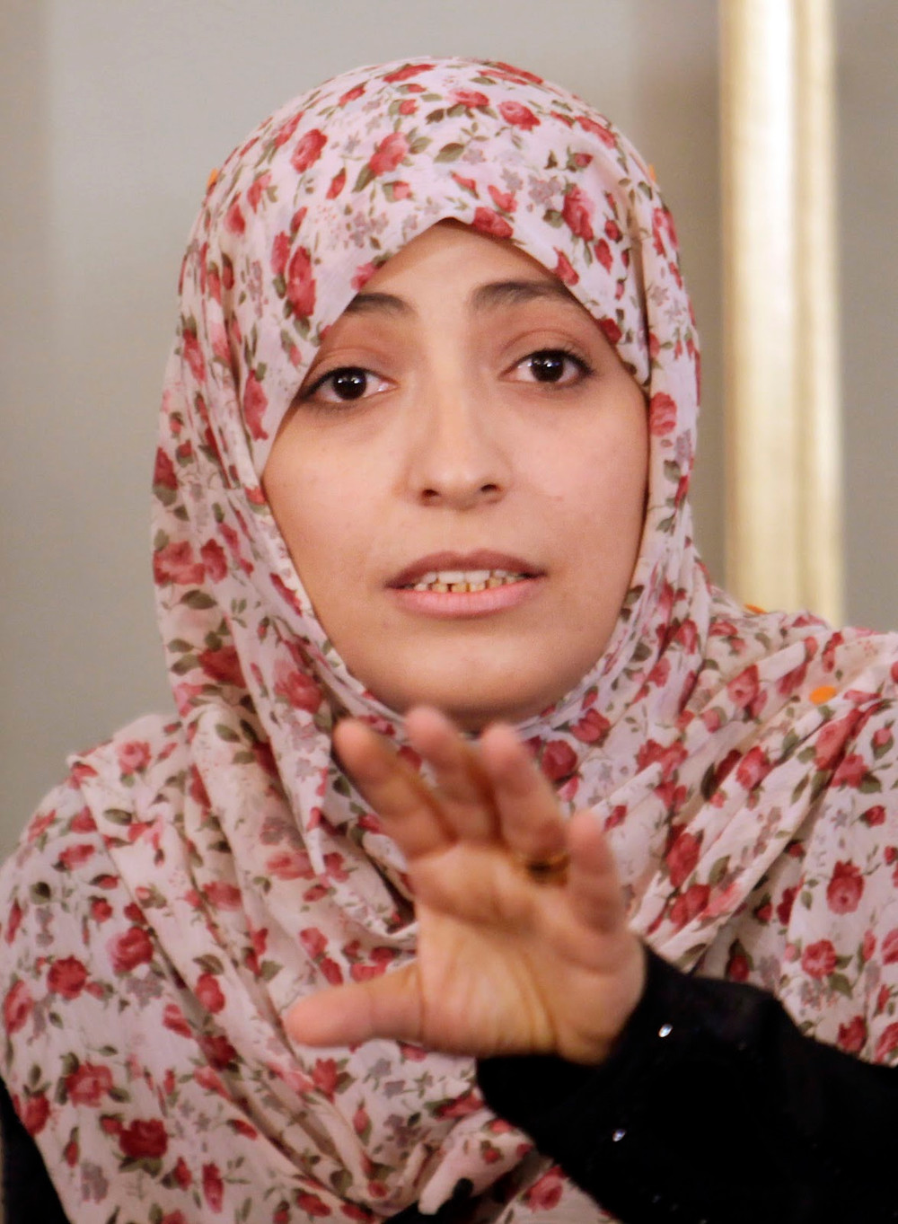 Aktivist Tawakkol ABDEL- Salam KARMAN