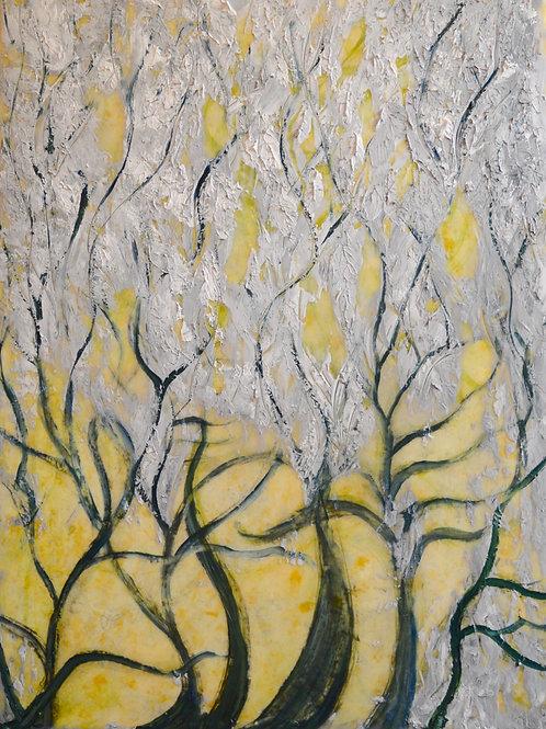 Abstract Dancing Plants