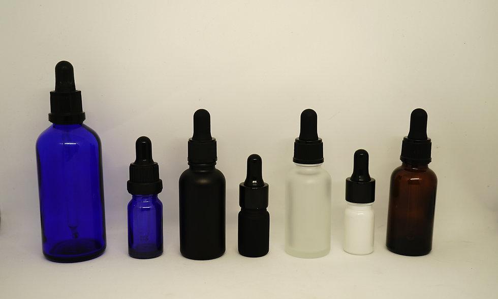Glass Dropper Bottles || Various