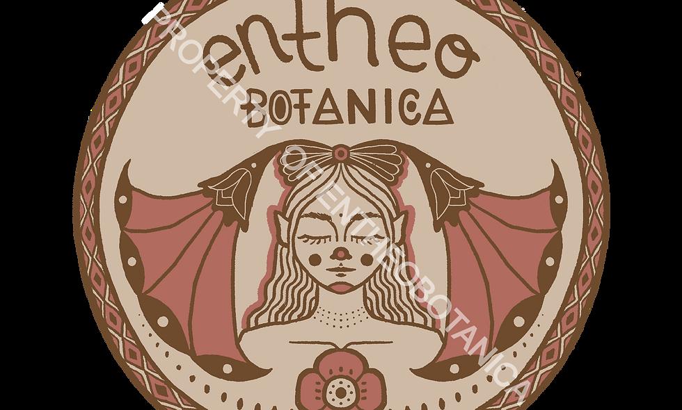 Entheobotanica Sticker || Elemental Plant Beings