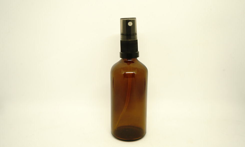 Spray Mister Bottle || 100mL || Amber & Frosted