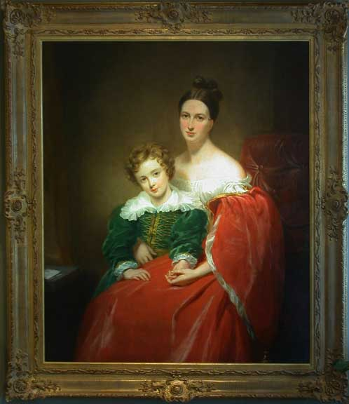 Sir Robert Lawrence and His Mother