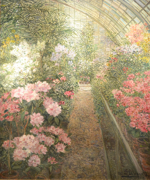 """A Greenhouse with Azaleas"""