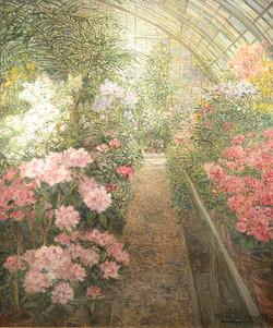 """""""A Greenhouse with Azaleas"""""""