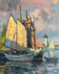 Sailboats-in-Harbor_30x24.jpg