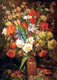 "SOLD ""A Mixed Bouquet"""