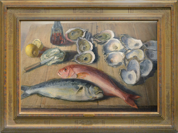 """Still Life with Fish and Oysters"""