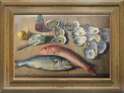 """""""Still Life with Fish and Oysters"""""""