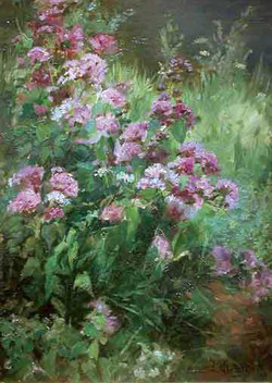 """""""Flowers on the River Border"""""""