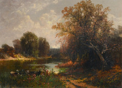 """""""Hudson River Valley Landscape"""""""